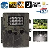 Caméra chasse gibier GSM Full HD 1080P infrarouge détection mouvement