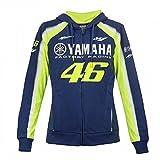 Valentino Rossi VR46 Moto GP M1 Yamaha Racing Femmes Sweat à Capuche Officiel 2018