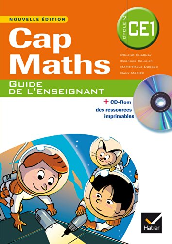Cap Maths CE1 éd. 2014 - Guide de l'enseignant (inclus CD Rom de ressources)