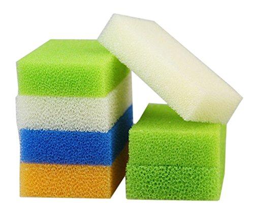 10 PCS Éponges Les fournitures de nettoyage Imitation Luffa Couleur aléatoire