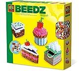 SES Creative 06258 Beedz Bügelperlen 3D Kuchen