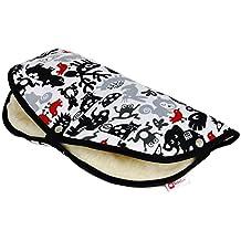 BABYLUX HANDMUFF Handwärmer MUFF Handschuh für Kinderwagen mit Lammwolle
