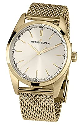 Jacques Lemans Nostalgie N-1559C Ladies Mesh Bracelet Watch