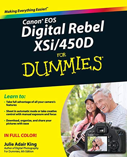 Canon EOS Digital Rebel XSi/450D For Dummies (For Dummies Series) (Xsi Eos Canon)