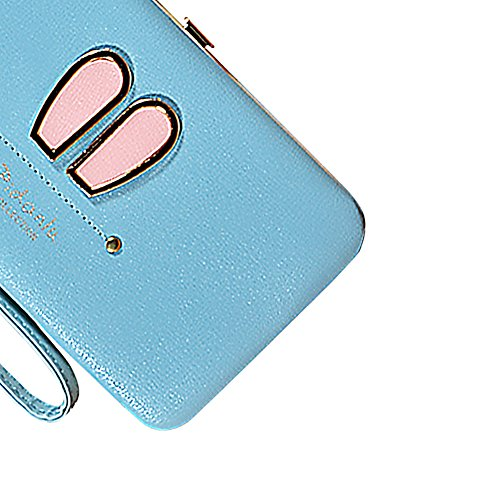 Portafogli da Donna Borsa con Diamante Bowknot Modello, Bonice Multifunzionale [Grande Capacità] Smartphone Wristlet Custodia Case Cover per Samsung Galaxy S8/S8 Plus/S7edge/S7/S6/S6 Edge/S6 Edge Plus Elegant-Cover-33