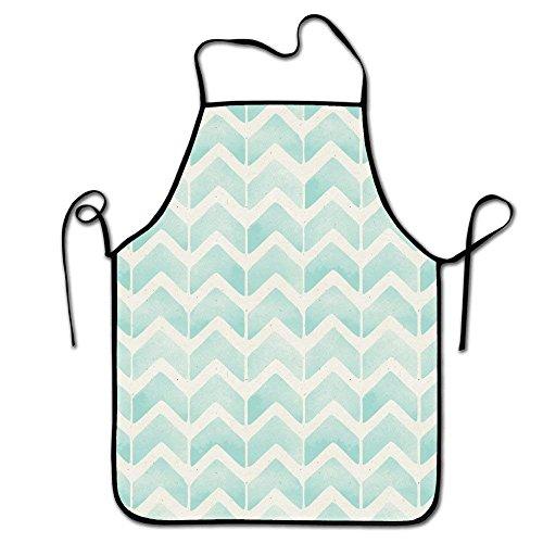 LarissaHi Lätzchen Schürze Erwachsene Frauen Unisex, langlebig komfortabel waschbar zum Kochen Backen Küche Restaurant Handwerk-Retro Pfeile gestreift