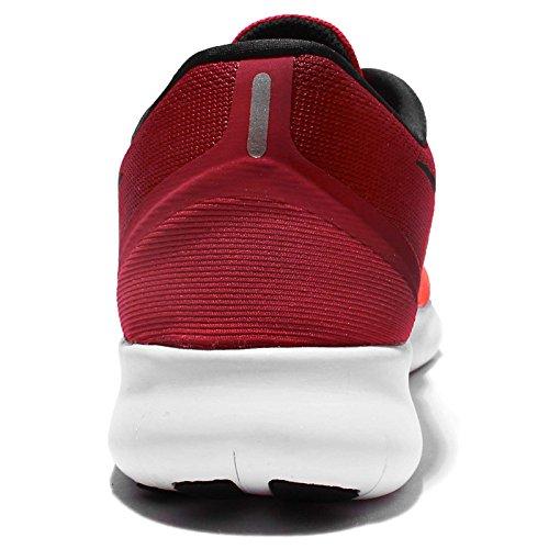 NIKE Wmns Nike Free RN Chaussures de Course pour Femme Rouge/Noir Rouge/Noir