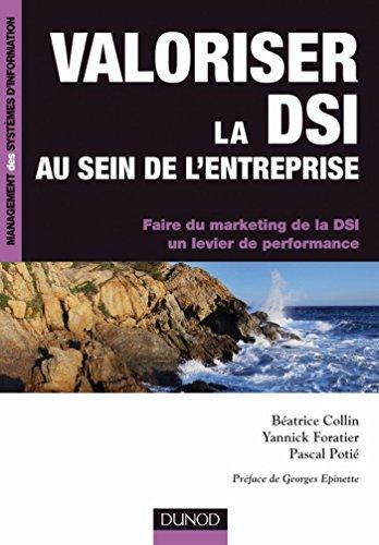 Valoriser la DSI au sein de l'entreprise : Faire du marketing de la DSI un levier de performance (Management des systèmes d'information)