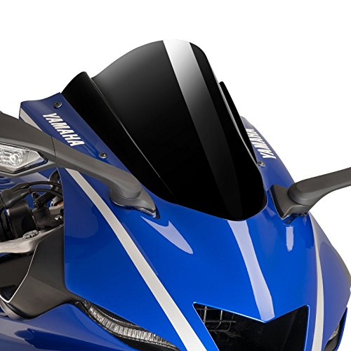 Puig 9723N Racing Scheibe, Yamaha YZF-R6 17'-18', Schwarz