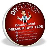 Xtra Strong Double Sided Carpet Rug Gripper Tape - Ultimate Grip Strength