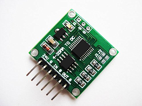 NGW-1pc Current-to-Voltage Module 4-20MA to 0-5V Linear Conversion Transmitter Module -