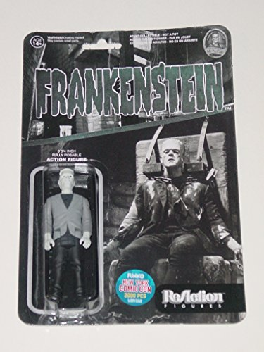ENSTEIN Universal Monsters 3.75 inch Action Figure 2015 NYCC Black & White Exclusive 1 of 2000 [New York Comic Con] by Universal Monsters ()