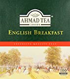 Ahmad Tea English Breakfast (Pack of 1, Total 100 Tea Bags)