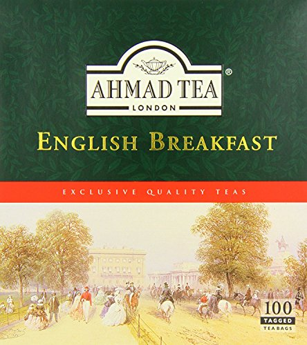 Tee-set Breakfast English (Ahmad Tea - English Breakfast (100 Teebeutel))