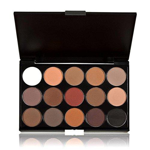 Fulltime® 15 Couleurs Nudes neutre chaud Eyeshadow Palette cosmétique