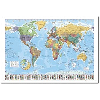 World map pin board framed in silver wood includes 100 pins 965 x world map pin board framed in white wood includes pins 965 x 66 cms approx 38 x 26 inches gumiabroncs Gallery