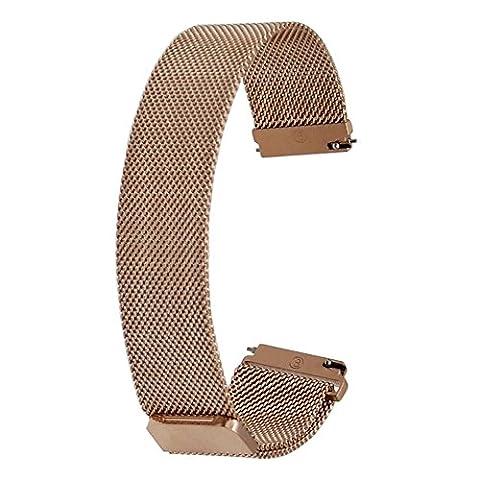 TRUMiRR 20mm Milanese boucle du bracelet montre magnétique Buckle Strap Bracelet pour Samsung Gear S2 Classique SM-R732 & SM-R735