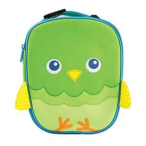 Munchkin Green Owl Insulated Kids Toddler Lunch Bag Nursery School