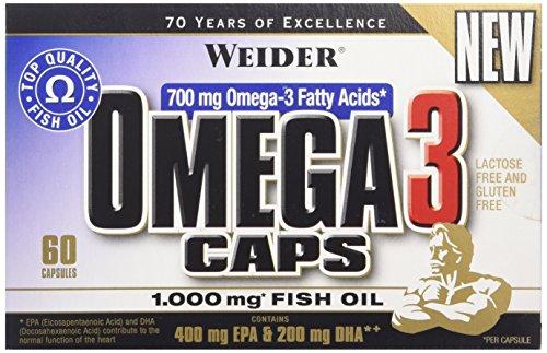 WEIDER Omega 3 Caps 60 Gélules