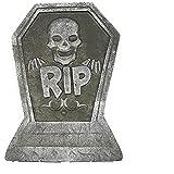Tombstone Props - Lápida de espuma divertida para decoración de Halloween