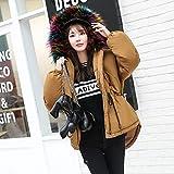 Xuanku Winter Kleidung Baumwolle Mantel Weiblichen Kurzer Absatz Lose Große Federbetten Und Kleidung Aus Baumwolle Für Mädchen Jacke Kleine Baumwolle Algerien Serie L 125-140 Pfund, Und Farbe