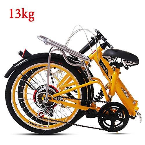 Grimk 20 Pulgadas Plegable De Aluminio Bicicleta De