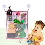 Kid Bad Spielzeug Aufbewahrung Organizer Badezimmer – Badewanne Mesh Net Tasche Rose