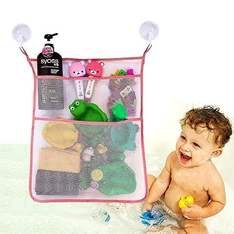 Kid Bad Spielzeug Aufbewahrung Organizer Badezimmer – Badewanne Mesh Net