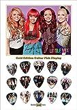 Little Mix 15 Celluloid Médiators Gold Display