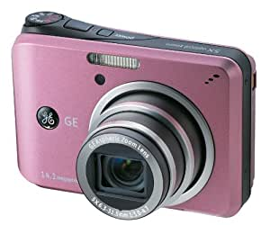 GE General Electric A1455 Digitalkamera (14 Megapixel, 5-fach opt. Zoom, 6,9 cm Display (2,7-Zoll), Auto-Panorama, Bildstabilisator) pink