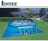 Intex 54432Pool oval cm 549x 305x 107mit Filterpumpe und Zubehör