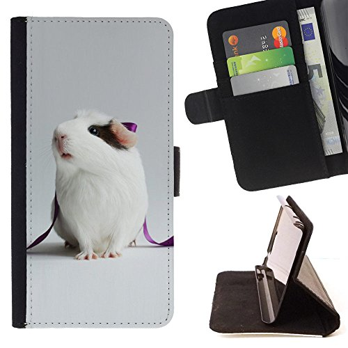 APPLE IPHONE 6 / 6S (4.7 INCH) Brieftasche Handyhülle - Guinea Pig Champion