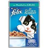 Felix So gut wie es aussieht Katzenfutter Thunfisch, 20er Pack (20 x 100 g) Beutel