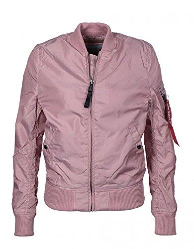 Alpha Industries MA-1 VF 59 Women Jacket Bomberjacke 133009, Größe:XS;Farbe:Silver pink