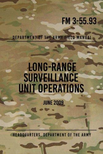 FM 3-55.93 Long-Range Surveillance Unit Operations: June 2009 Surveillance Unit