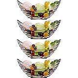 PRAX Boat Serving Bowl set of 4