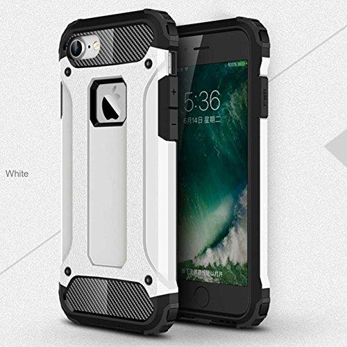 """iPhone 7 Plus Coque, AOFad Case Anti - poussière Protection des lourds 2-à-1 gris TPU Avec 10 Colors Diamond Accessoires Série Pour Femme Homme 5.5"""" I089 AOFad B329"""
