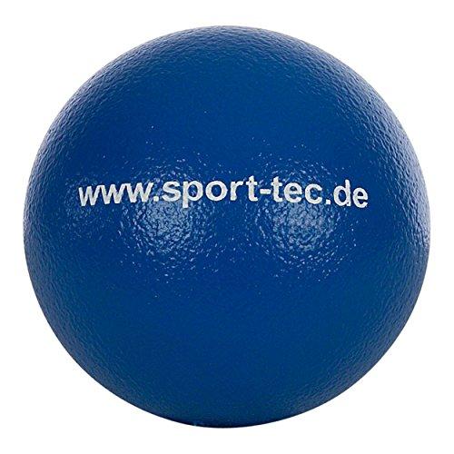 Schaumstoffball, Softball, Spielball aus Schaumstoff beschichtet - 18 cm, blau