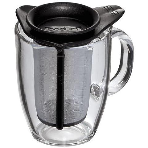 Bodum - K11239-01 Yoyo Set - Tasse à Thé - 0,3 L - Noir