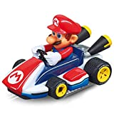 Carrera First Nintendo Mario Kart 20063024 Rennbahn für Kinder ab 3 Jahren - Mario Vs. peach