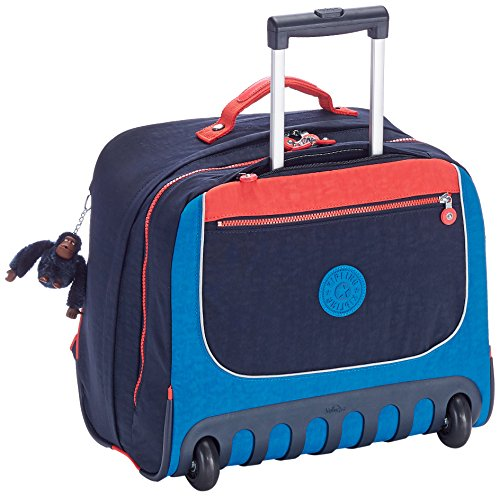 Imagen de kipling  clas dallin   con ruedas  blue orange bl  azul