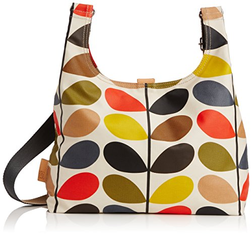ETC by Orla Kiely - Borsa a spalla, Donna Multicolore  (Multi)