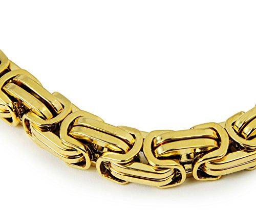 Gold-farbenes-Armband Klein-Elemente Rapper Massiv Halskette Accessoires Gangster PIMP Proll Metall Kostüm Gangster-Faust