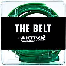 Cinturón de Golf AKTIVX SPORTS –Elegido como el Regalo de Golf nº1 de 2016 – La Mejor Ropa y Accesorios de Golf para Hombres y Mujeres Golfistas – Tamaño Único, a Prueba de Agua y Sudor, Color Verde