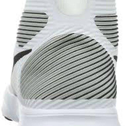 Nike  Free Train Instinct, Sneakers homme Blanc Cassé - Blanco (White / Black)