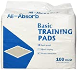 All-Absorb Basic Training Pads, 55,9 cm von 55,9 cm, 100 Count