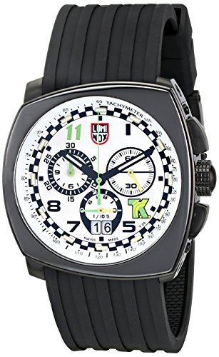 Luminox Men's 1147 Tony Kanaan Edition Analog Display Analog Quartz Black Watch