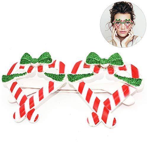 Zoylink Weihnachtsfeier Gläser Kreative Lustige Kostüm Gläser Party Requisiten