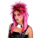 Carnival Toys 2445 - Perücke Punk, pink