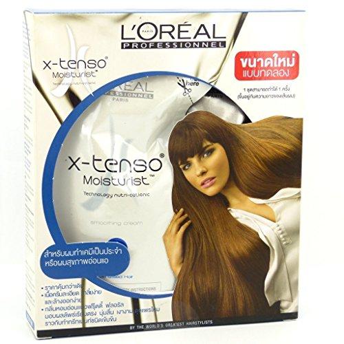 SET: L'Oréal Loreal - X-Tenso Permanente Haare Glätten Haarglättung Crème f. Strapazierte Sensibilisiertes Haar Haare